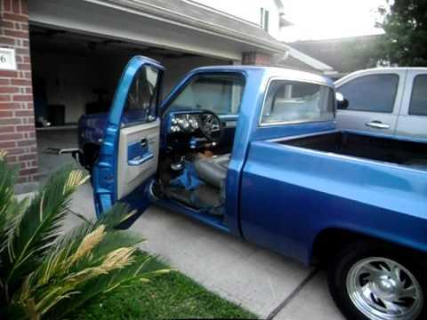 My 1983 Chevy Truck c10 New 383 Stroker Motor 1. - YouTube