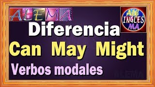 Uso de Can May y Might - Diferencia de CAN MAY y MIGHT - Verbos Modales - Lección # 18