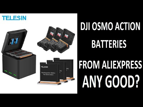 DJI OSMO ACTION | EXTRA BATTERY CHARGING KIT | 3 BATTERIES 1 CHARGER FOR RS.2500