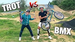 ON ÉCHANGE NOS SPORTS ! #3 (TROTTINETTE VS BMX)