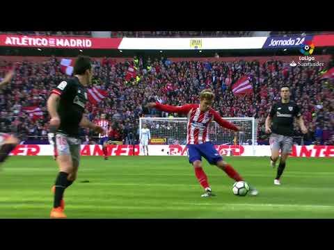 Atletico Madrid vs Athletic Bilbao 2 0 All Goals Highlights 18 02 2018