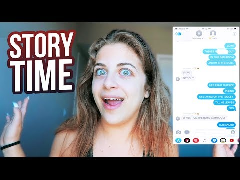 MY TAMPON STORY, GOING IN BOYS BATHROOM & MORE