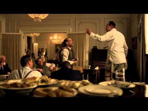 Al Capone and his tailor in Boardwalk Empire