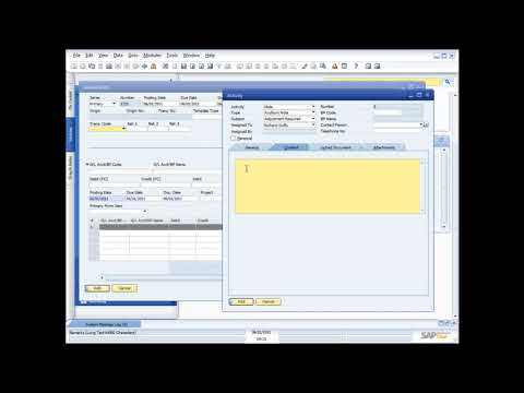 DEMONSTRATING THE FINANCIALS FUNCTIONALITY IN SAP BUSINESS O
