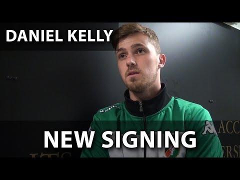 Daniel Kelly speaks to GlensTV on joining the club