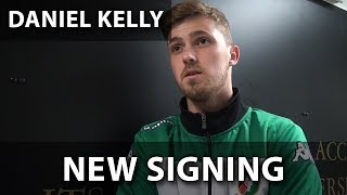 Daniel Kelly speaks to GlensTV on joining the club