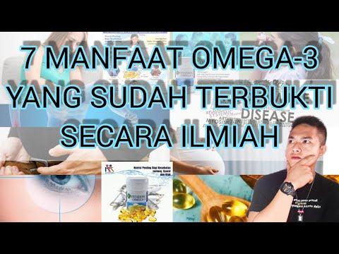 MANFAAT OMEGA-3 Bagi Tubuh