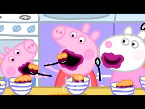 Peppa Pig Full Episodes   Peppa Pig Loves Blackberry Crumble   Kids Videos