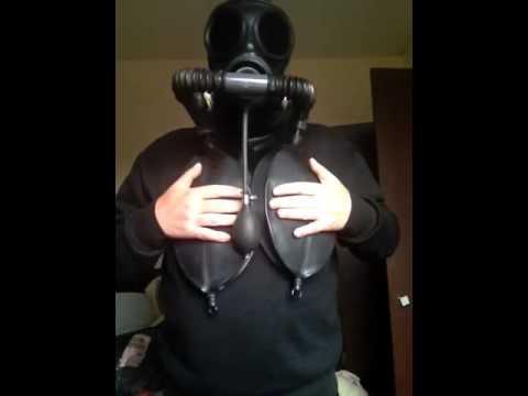 gas mask rebreathing 6 ltr rebreathing youtube. Black Bedroom Furniture Sets. Home Design Ideas