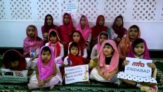 Jalsa Salana Greetings from the Nasirat of Bangalore India Islam Ahmadiyya