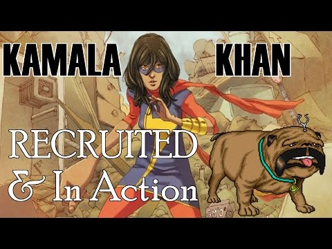 Marvel: Avengers Alliance - Kamala Khan Recruited And In Action