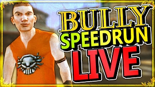 BULLY:SE - Speedrun (2h 45m 33s) - NEW PERSONAL BEST!