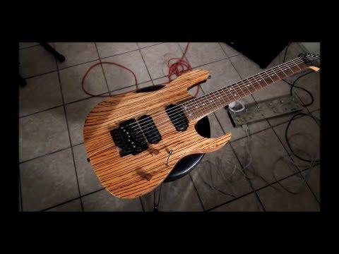 Custom 7 String Guitar Review- Guitargear1