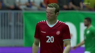 IRLAND VS DANMARK    CLASIFICATION WORLD CHAMPIONS