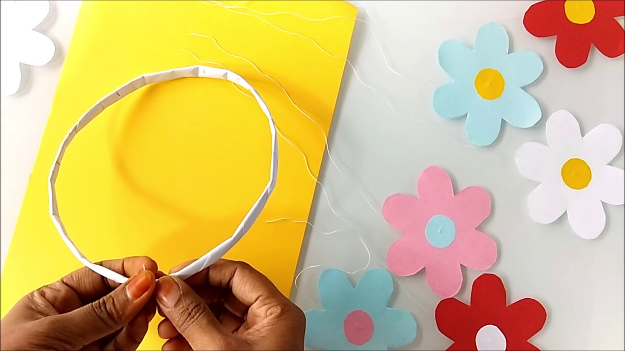 Paper Crafts For Room Decoration Quick And Easy Idea Diy Home Decor Budget Decor Ideas Youtube