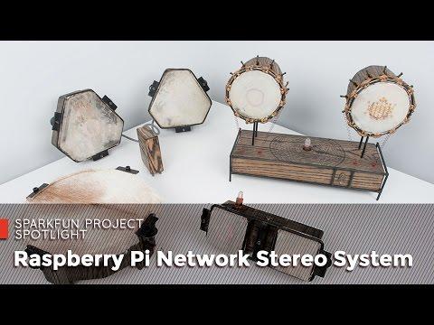 Raspberry Pi Network Stereo System
