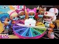 ВСЕ #КУКЛЫ #ЛОЛ СЮРПРИЗ ЗАБОЛЕЛИ! Вторая волна! #Мультик с куклами ЛОЛ Барби для детей