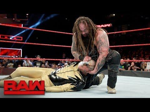 Goldust vs. Bray Wyatt: Raw, Sept. 11, 2017
