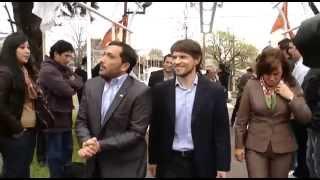 04 de SEP. Lanzamiento flota de camiones Red Com.Pr.Ar en Berazategui. Augusto Costa