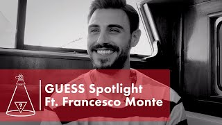 We sat down with campaign model francesco monte in our new rapid fire q&a series, guess spotlight, to learn all about his music career and more! subscribe to...