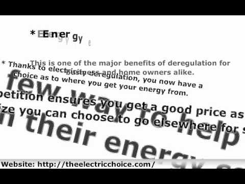 Texas Energy Deregulation and Business