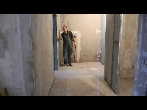 Облицовка пола,прихожая,коридор,ванная,кухня ч.1