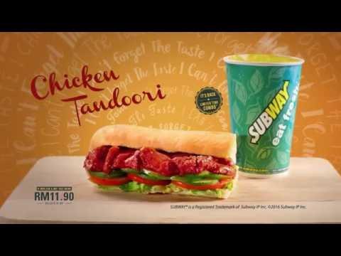 Subway® Chicken Tandoori