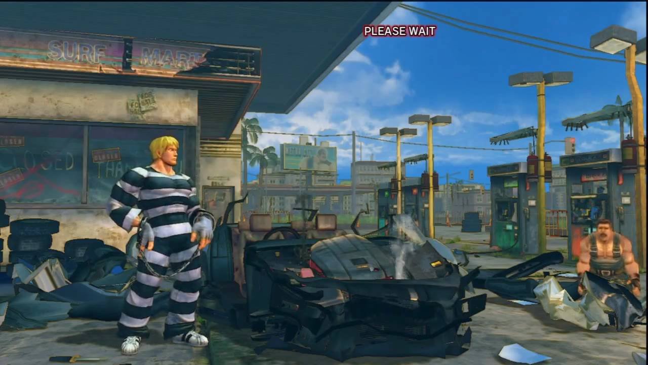 Street Fighter  Oh My Car