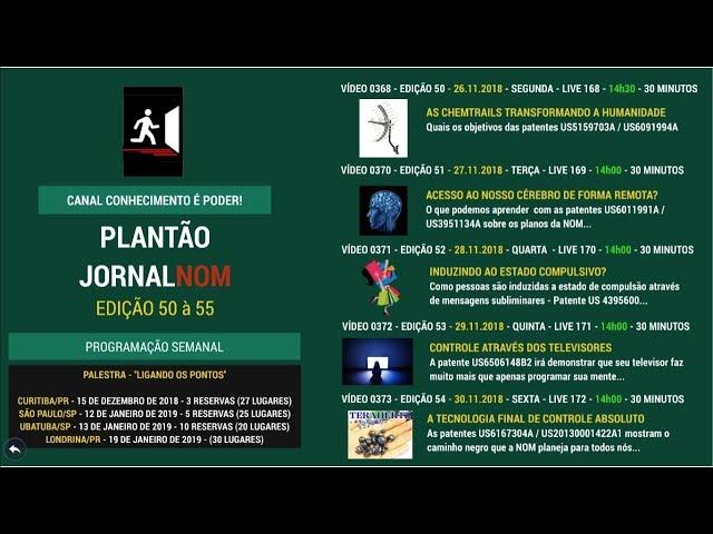 VÍDEO 0374 - A TECNOLOGIA FINAL DE CONTROLE ABSOLUTO - 15h