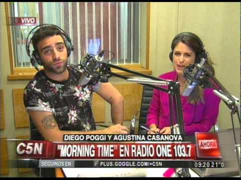 C5N - MAÑANAS ARGENTINAS: DUPLEX CON MORNING TIME EN RADIO ONE 103.7 - YouTube