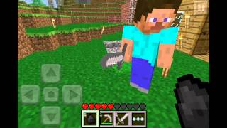 Minecraft Pocket Edition 0.3.0 Online Multiplayer (IT WAS SO DIFFERENT)