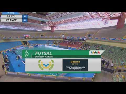 World University Championship   SEMIFINAL   França x Brasil - (Mundial Universitário Futsal)