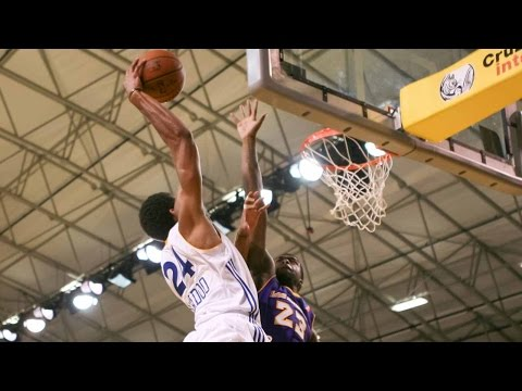 James Michael McAdoo posts 20 points, 10 rebounds vs. Iowa Energy