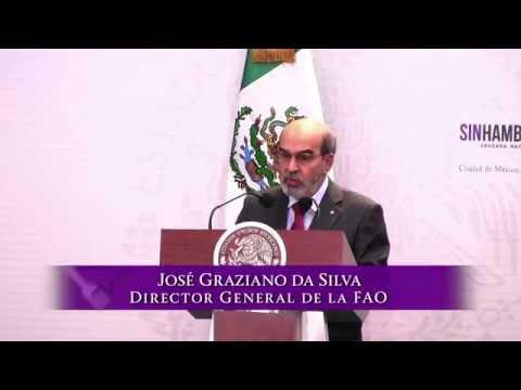 Testimonio de José Graziano da Silva, Director General de la FAO