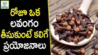 Cloves Health Benefits - Health Tips in Telugu || Mana Arogyam