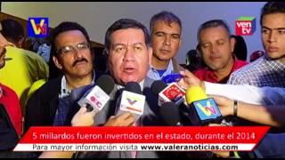Gobernador Rangel Silva presento su Memoria y Cuenta