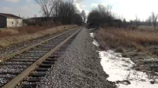 Peer Marquette 1225 Steam Locomotive Owosso Michigan train