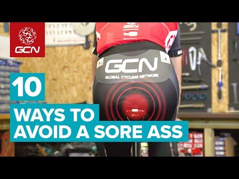 Top Ten Ways To Avoid A Sore Ass When Cycling