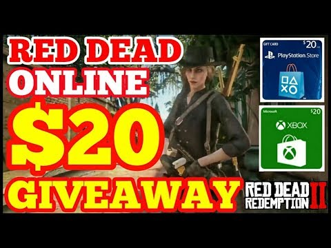 $20 Gift Card Giveaway Showdown Series Red Dead Redemption 2 Online thumbnail