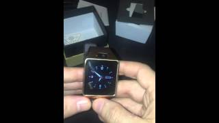 DZ09 smartwatch review portugues