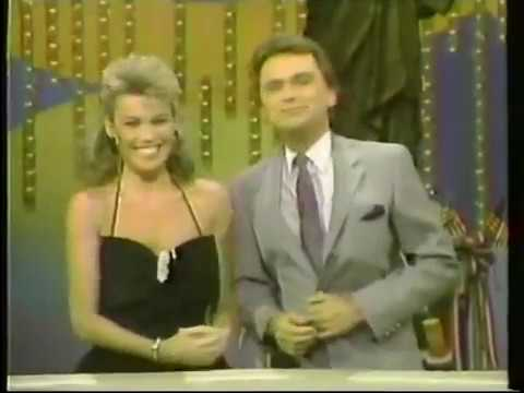 WCFT Wheel of Fortune promo, 1988