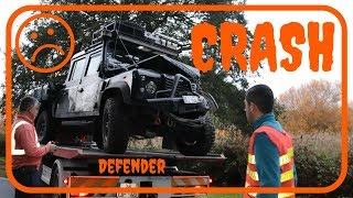 WE CRASHED HEAD ON INTO A TRUCK ! (Ep17 Overlanding Defender GrizzlyNbear)