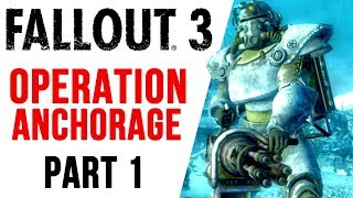 Fallout 3 Walkthrough Part 1 OPERATION ANCHORAGE