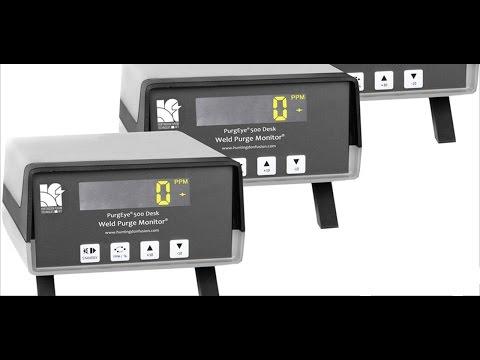 PurgEye® 500 Desk Weld Purge Monitor®
