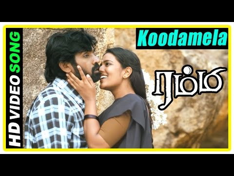 Rummy Movie Scenes | Koodamela Koodavechi Song | Aishwarya proposes to Vijay Sethupathi | D Imman