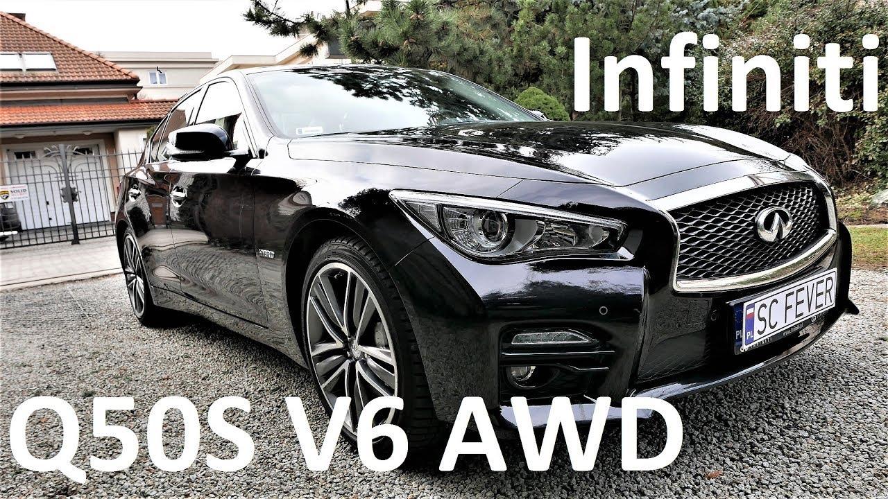 2017 Infiniti Q50s Hybrid Awd 3 5 V6 Review Pl Test 59 Prezentacja Recenzja