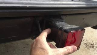 $9 LED Trailer Hitch Cover Light Review