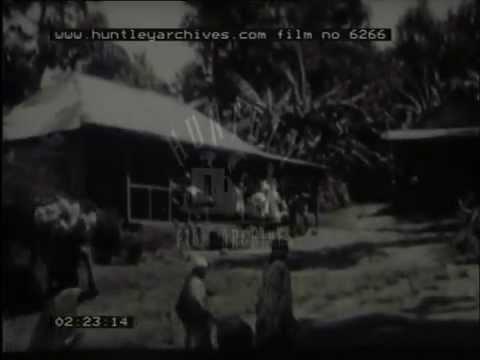 A Village In Tanganyika, 1940's - Film 6266