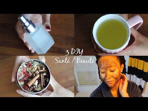 ♡3 DIY santé / beauté♡ (Tisane, Masque au café, Eau de beauté)
