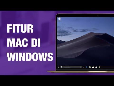 Menikmati Fitur MacOS Mojave Di Windows 10